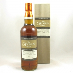 Arran Premier Cru Sauternes Single Cask Front