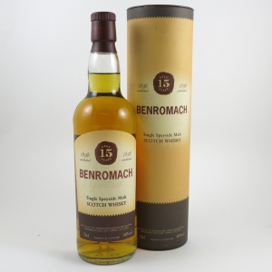Benromach 15 year Old (Old Style) front