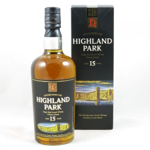 Highland Park 15 Years Old (Old Style) front