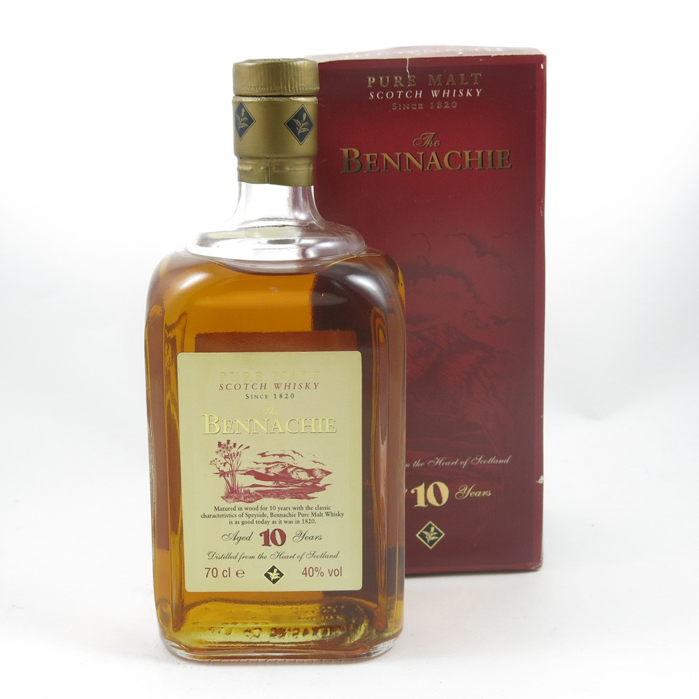 Bennachie 10 Year Old Whisky Auctioneer Scotch Auctions Pure It Classic Front