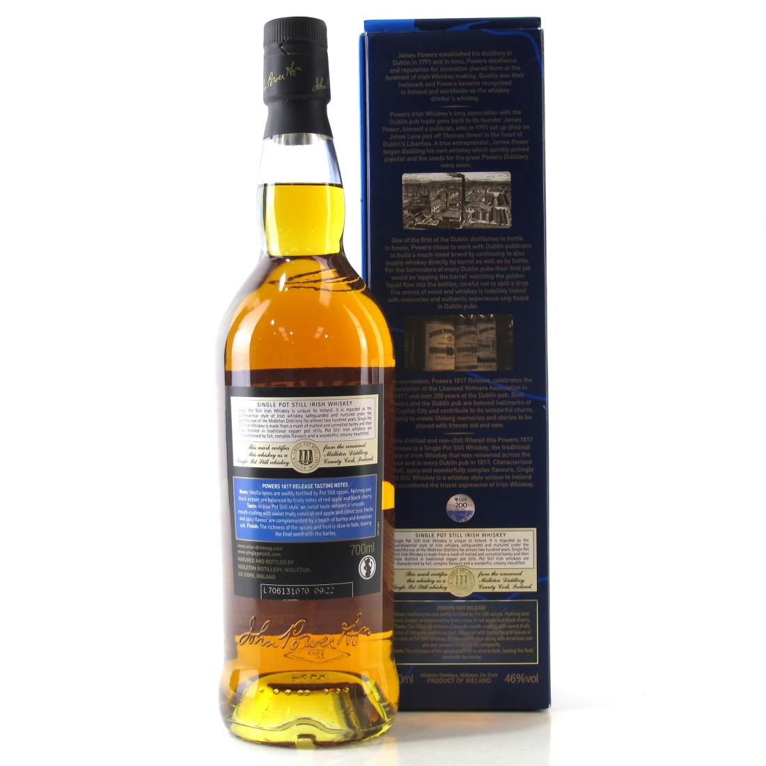 Powers 10 Year Old / Licensed Vintners Association | Whisky Auctioneer