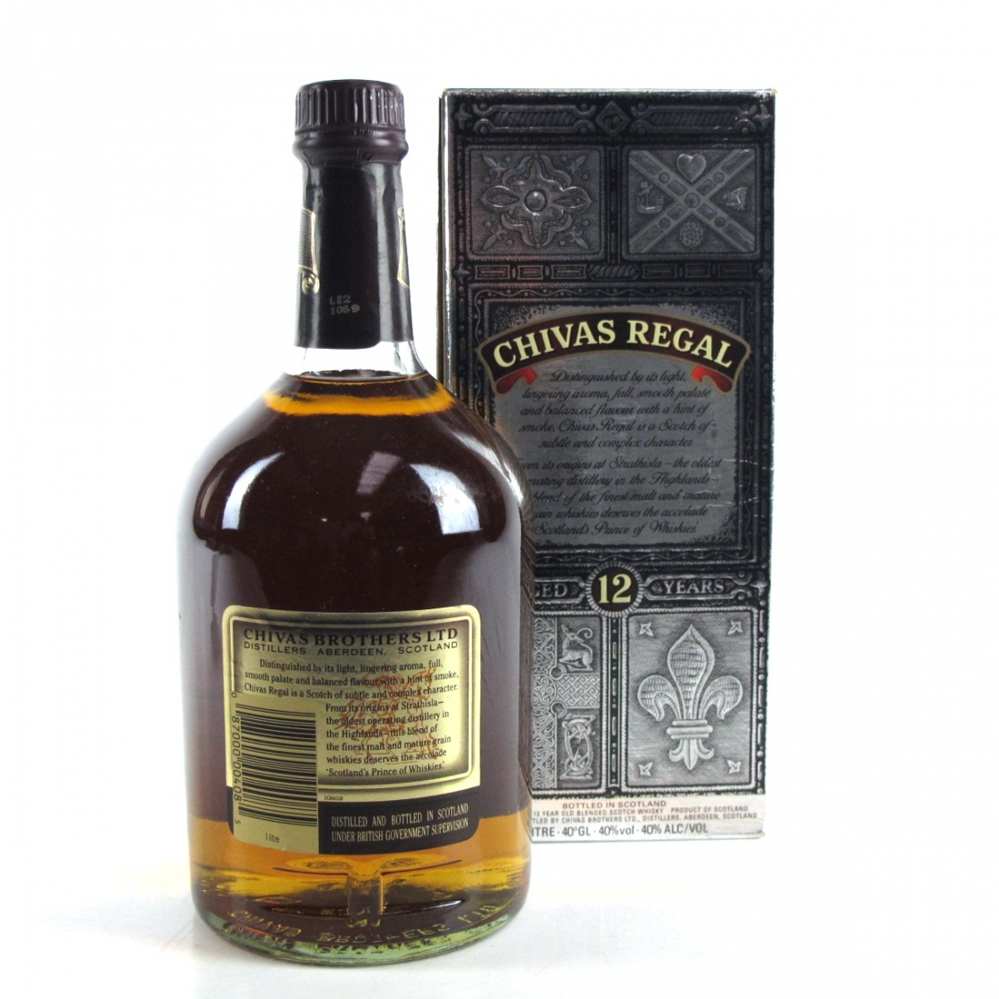 3b36c23c90a Chivas Regal 12 Year Old 1 Litre | Whisky Auctioneer