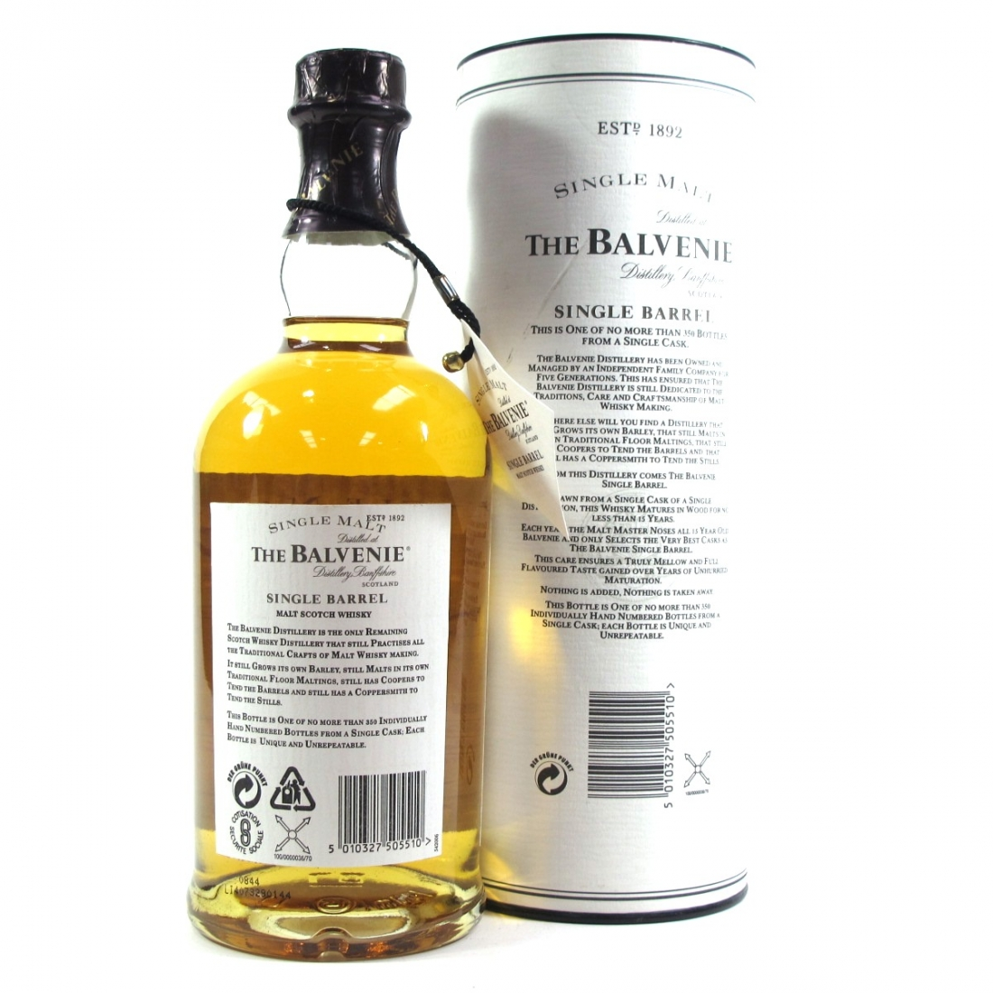 Balvenie single barrel