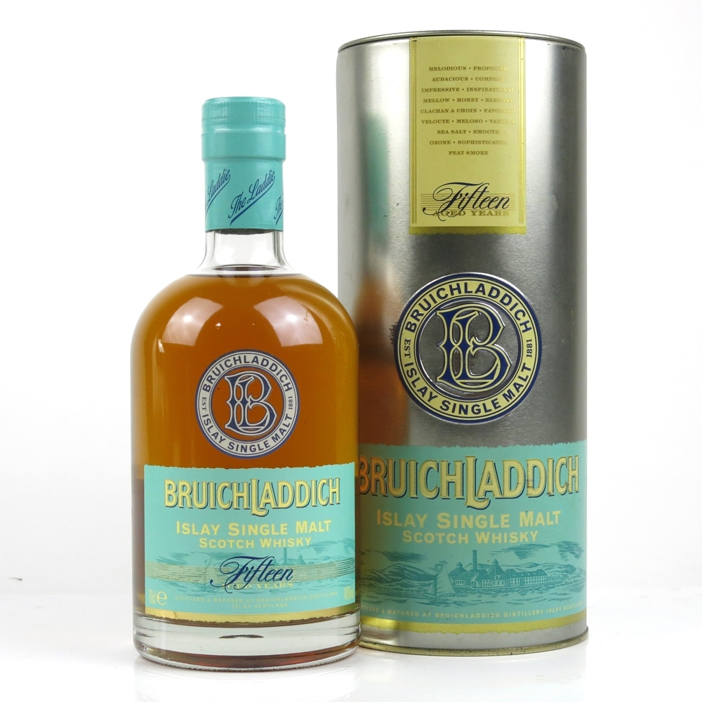 Image result for bruichladdich 15 years first edition
