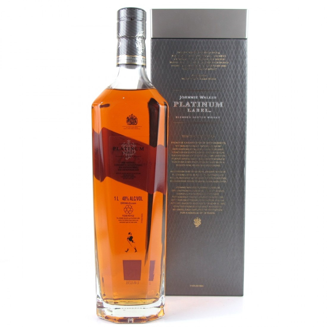 Johnnie Walker Platinum Label 18 Year Old 1 Litre Whisky