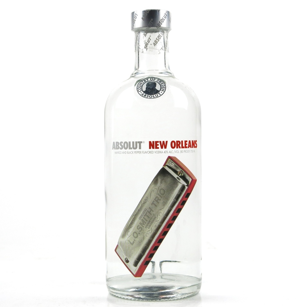 absolut new orleans limited edition whisky auctioneer scotch
