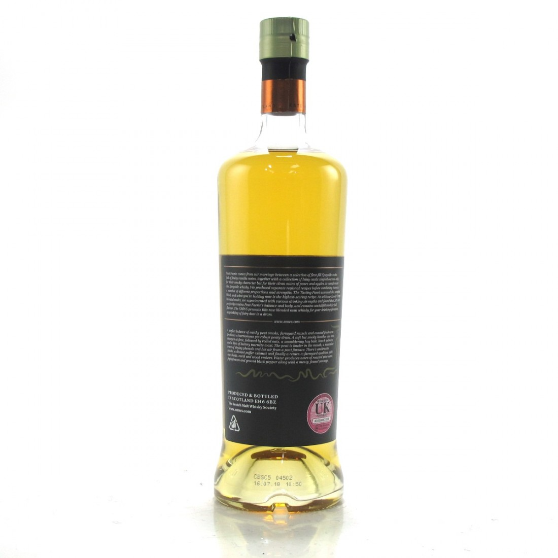 Peat Faerie 10 Year Old SMWS Blended Batch 03 | Whisky Auctioneer