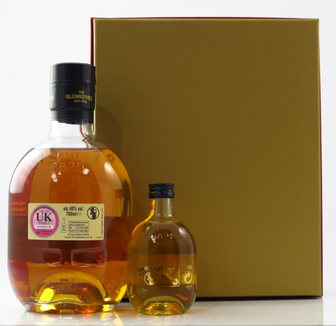glenrothes sherry cask reserve year of the dog 2018 gift pack