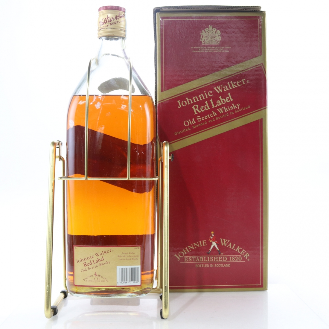 Johnnie Walker Red Label 4 5 Litre / with Cradle | Whisky