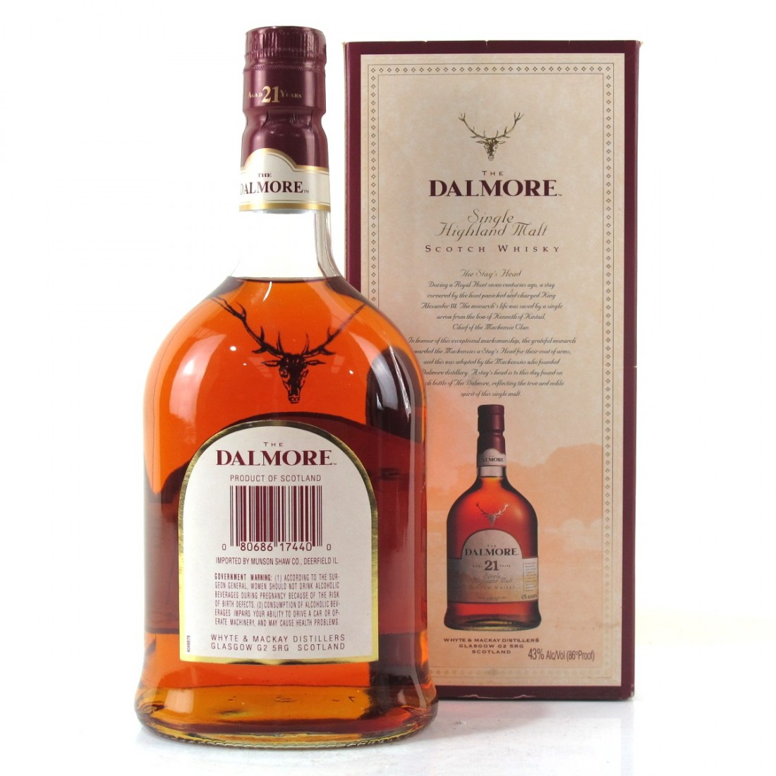 587460b1ce6 Dalmore 21 Year Old 75cl   US Import