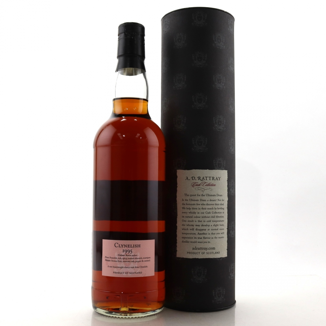 Clynelish 1995 A D  Rattray 15 Year Old / Alba Import