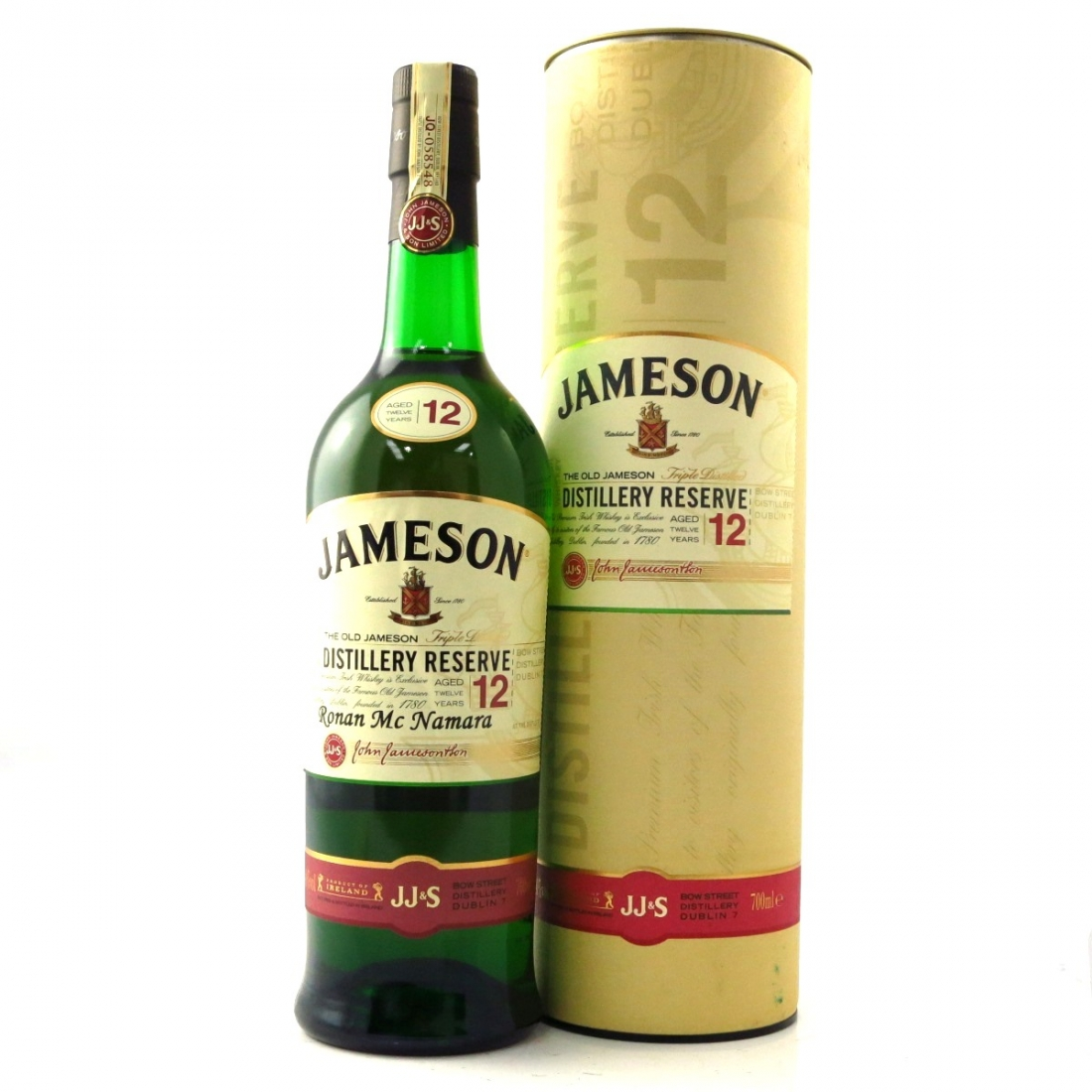c680e9a1d59 Jameson 12 Year Old Distillery Reserve